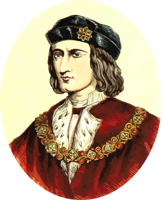 Richard III - image via Pixabay