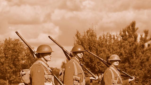 Soldiers. Image via Pixabay