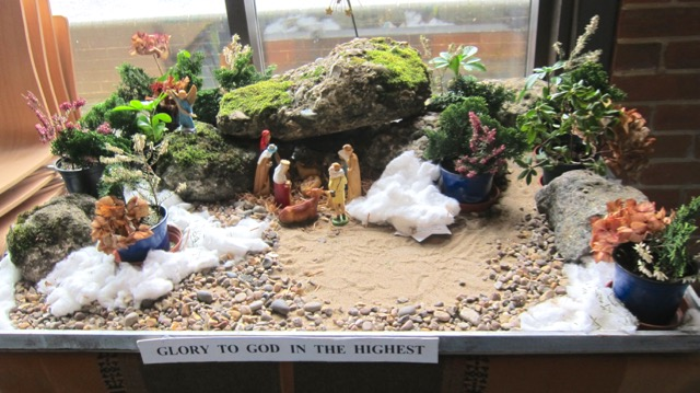 The Nativity at the Dovetail Centre, Chandler's Ford Methodist Church.