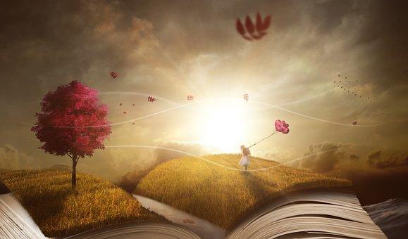 Escape with a good book - image via Pixabay