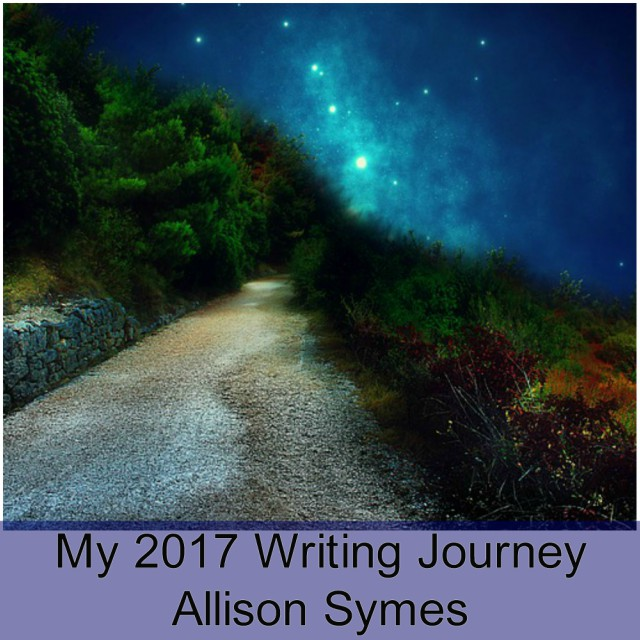 Feature Image - My 2017 Writing Journey