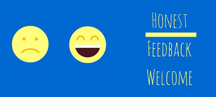 Honest feedback is the only kind worth having - image via Pixabay