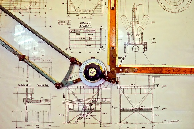 The art of the draughtsman - image via Pixabay