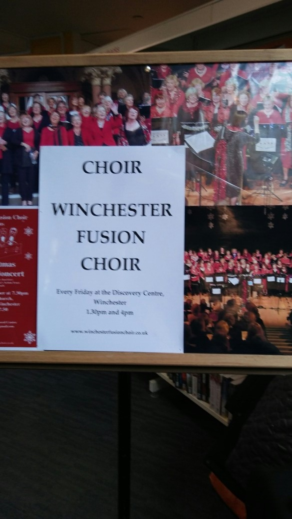 The choir were in fine voice