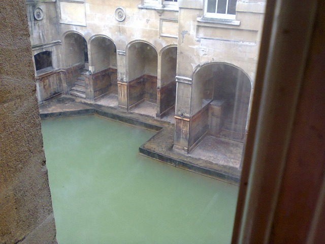 Another view of the Baths - image by Allison Symes