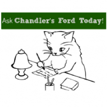 Ask Chandler's Ford Today: We're Relocating to Chandler's Ford…