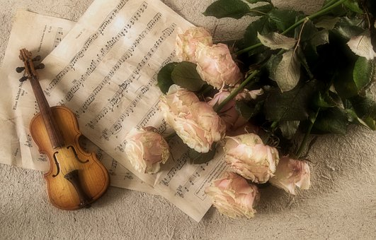 Setting the mood classically perhaps - image via Pixabay