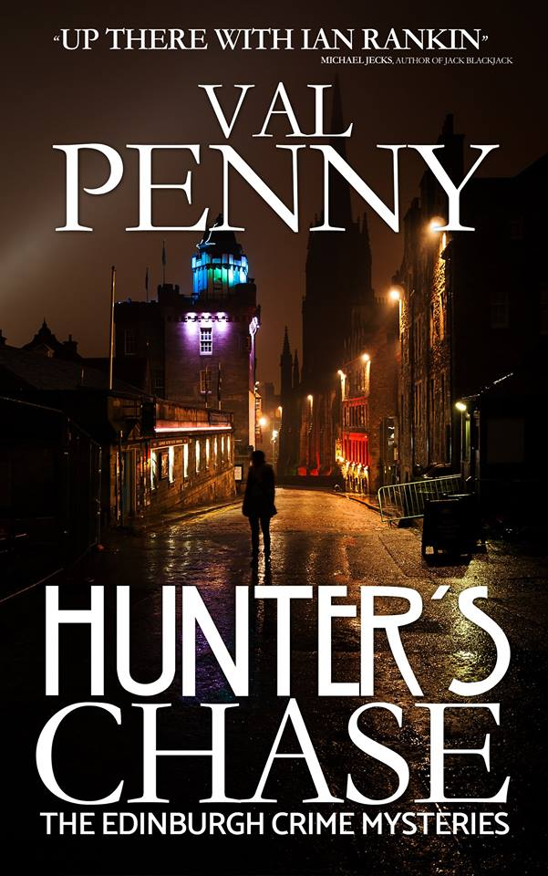 Hunter's Chase book cover - image kindly supplied by Val Penny