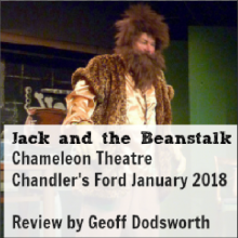 Review: Jack and the Beanstalk by Chameleon Theatre Chandler's Ford – January 2018