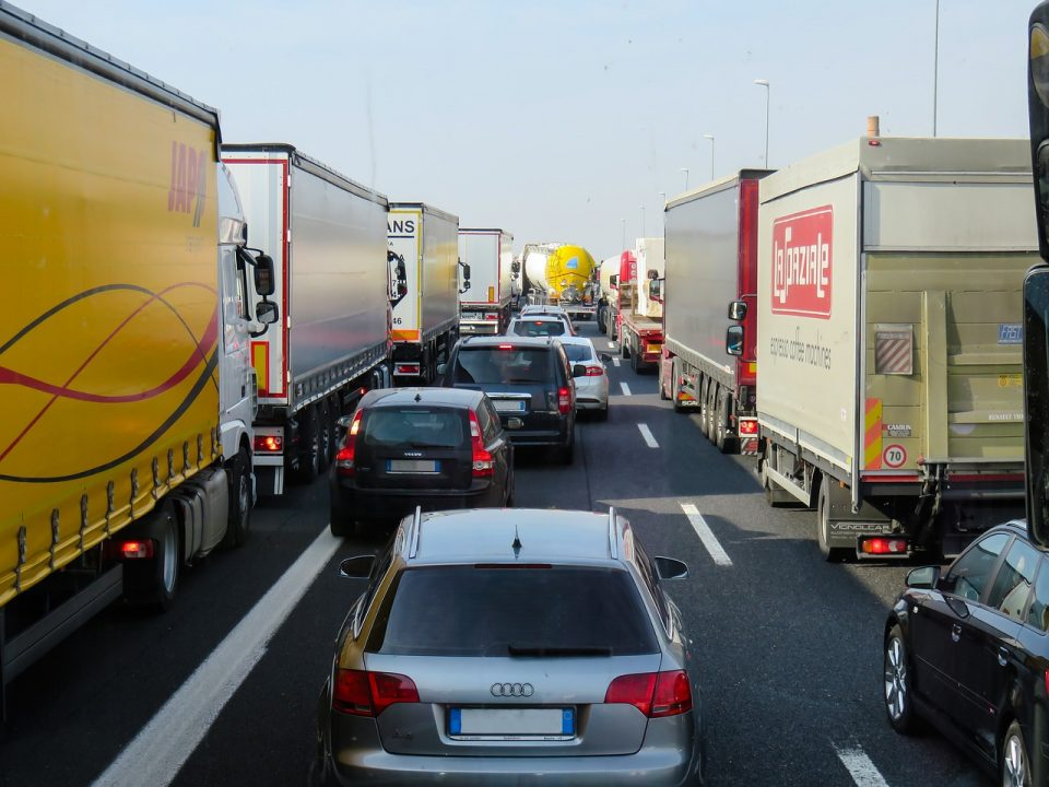Traffic queues similar to those around M3 Junction 9.