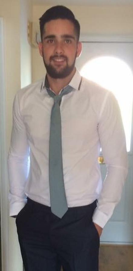 Ben Ghafoor: image via Hampshire Constabulary