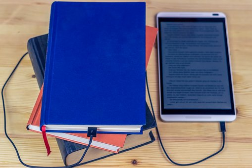 Electronically or by print, both face publishing frustrations - image via Pixabay