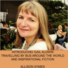 Travelling by Bus around the World and Inspirational Flash Fiction – Introducing Gail Aldwin
