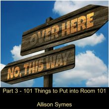 Part 3 – 101 Things to Put into Room 101