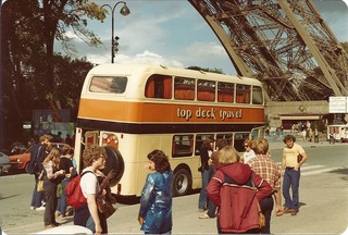 In Paris - have bus, will travel. Image by Gail Aldwin