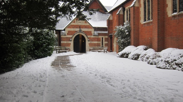 St. Boniface Church, Hursley Road, in early March this year.