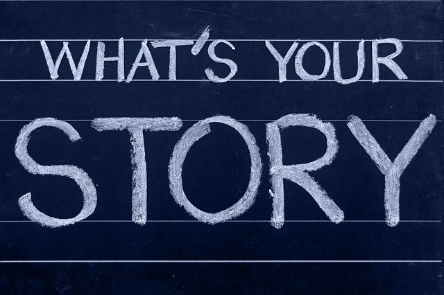 What's Your Story re Pixabay.  Come along to Richard Hardie's interactive book sessions at Winchester and have a go at writing your own stories.