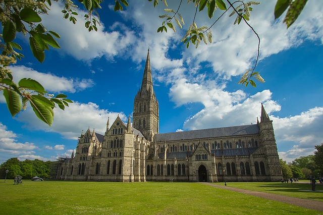 Salisbury Cathedral. Image by diego_torres via Pixabay
