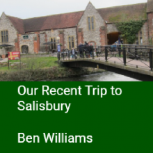 Our Recent Trip to Salisbury (after Spy Atttack)