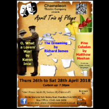 Review: April Trio of Plays by Chameleon Theatre Company