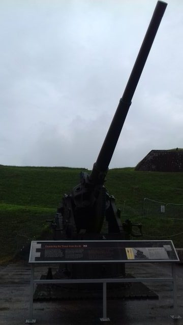 World War 2 Anti Aircraft gun at Fort Nelson