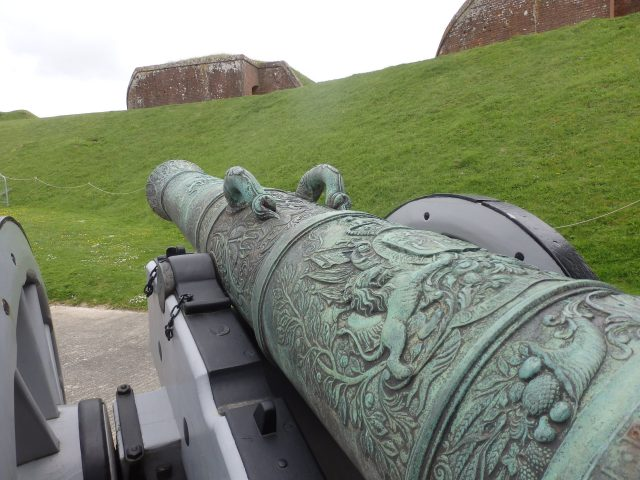 Canon at Fort Nelson