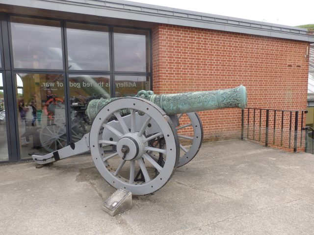 Cannon at Fort Nelson