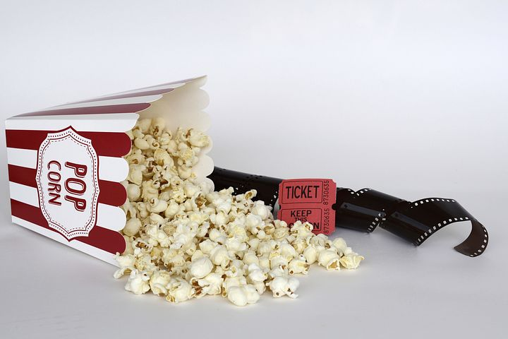 Part 6 - I've never understood selling popcorn at a cinema given it is so noisy to eat. Image via Pixabay
