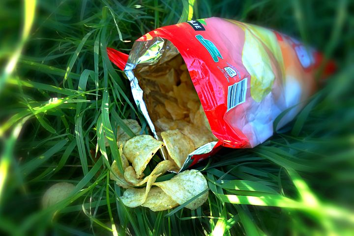 Part 6 - Why are crisp packets so noisy on opening? Image via Pixabay