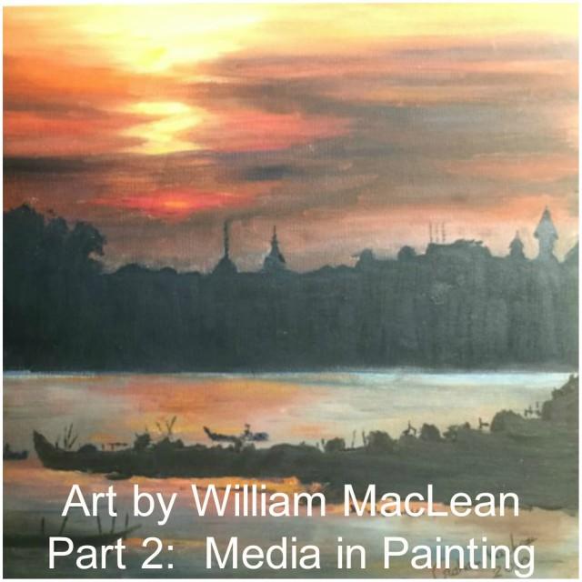 Feature Image - Art Series - Part 2 - William MacLean - Media in Painting