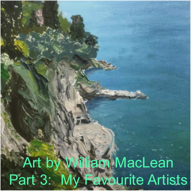 Feature Image - Art Series - Part 3 - William MacLean - My Favourite Artists