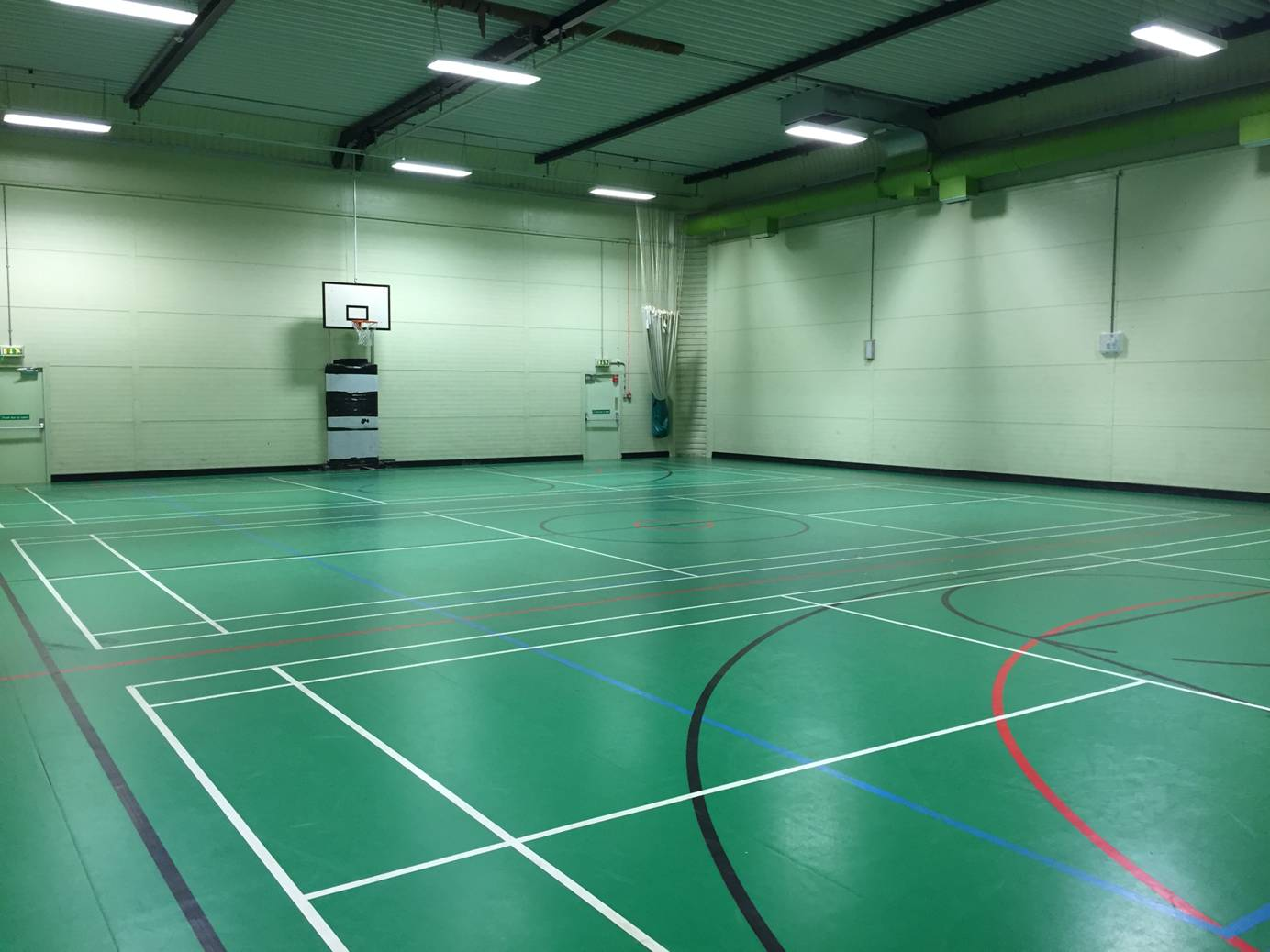 The Sports Hall at Hursley Park where the Fair will be held. Image via Glenn Salter.