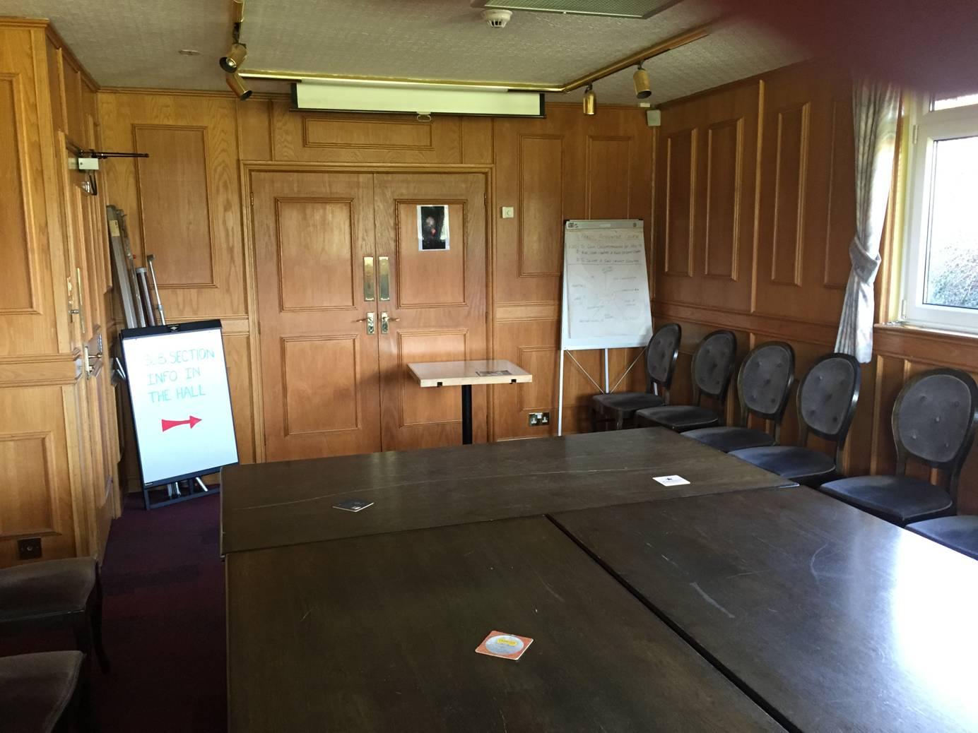 The workshop room at Hursley Park. Image kindly supplied by Glenn Salter.