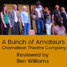 Review: A Bunch of Amateurs by Chameleon Theatre Company