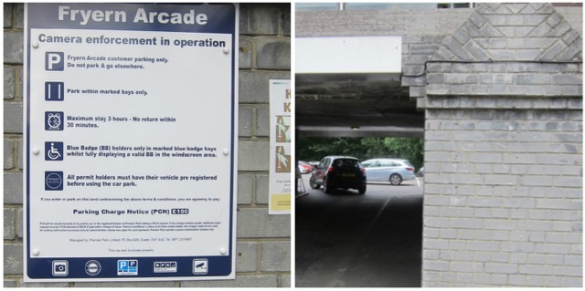 Fryern Arcade parking restrictions have now been removed.