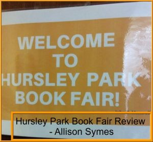 A Look Back at the Hursley Park Book Fair. Image by Allison Symes