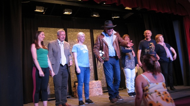 The cast - brilliantly directed by Liz Strevens. Image by Janet.