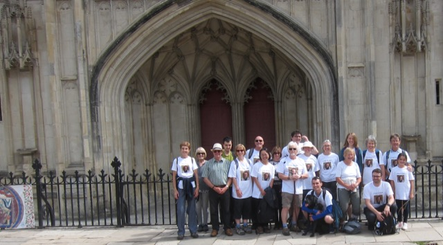 Destination on Day 1: Winchester Cathedral