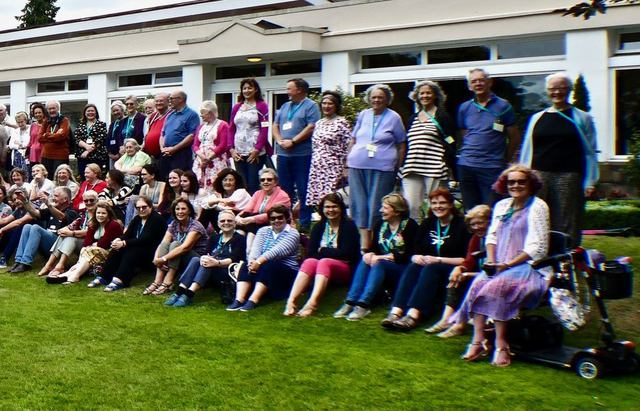 It was Swanwick's 70th anniversary - hence the group photo-2