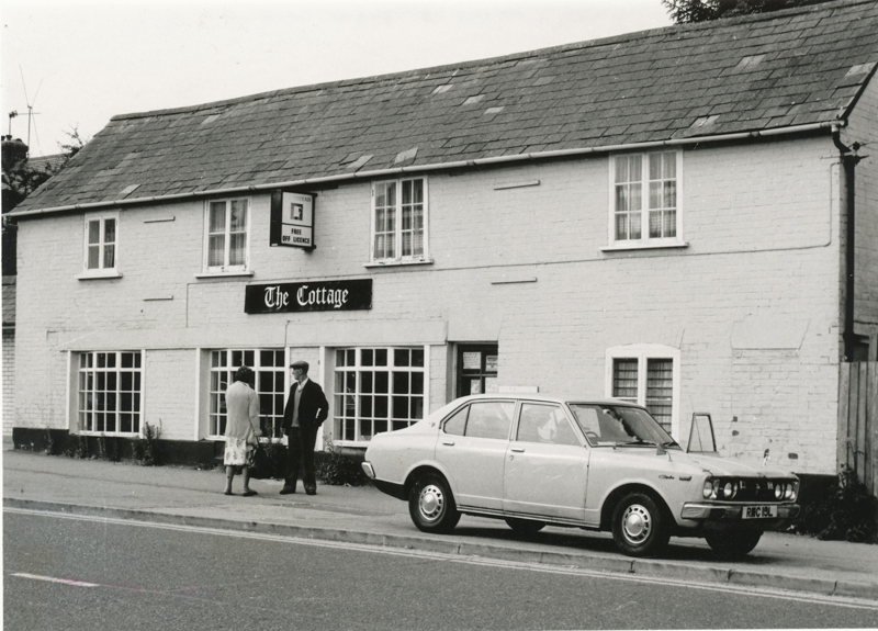 The Cottage in Chandler's Ford. Credit: Image from Eastleigh and District Local History Society