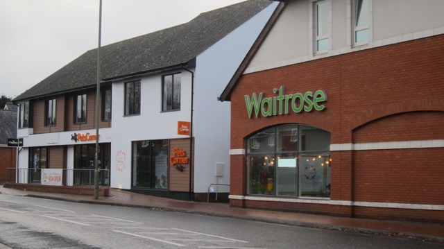 Waitrose on Oakmount Road, Chandler's Ford