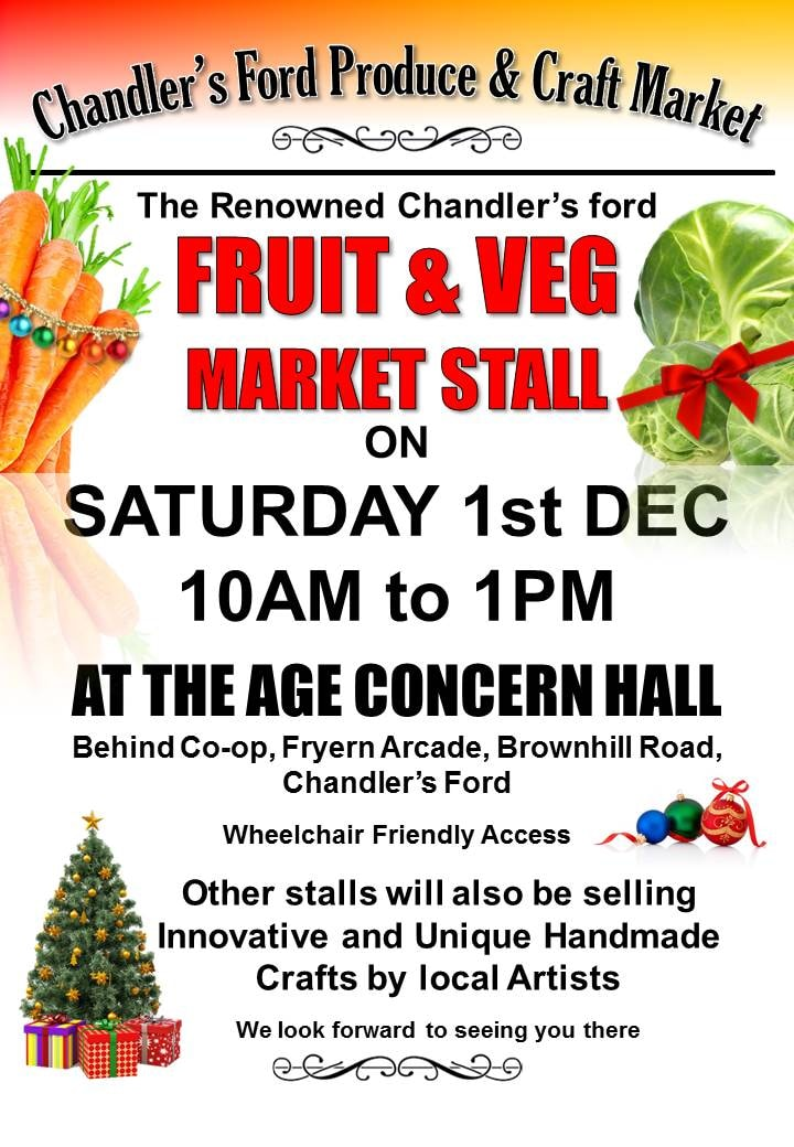 Chandler's Ford Market December 2018