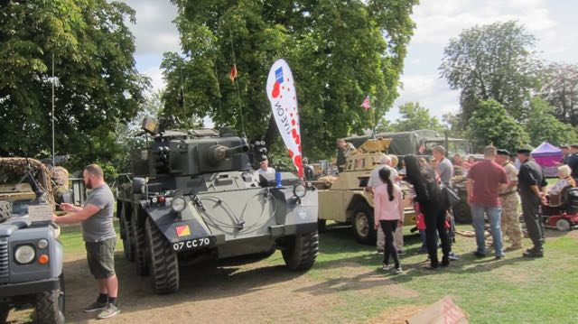 Eastleigh Remembers: old vehicles and tanks