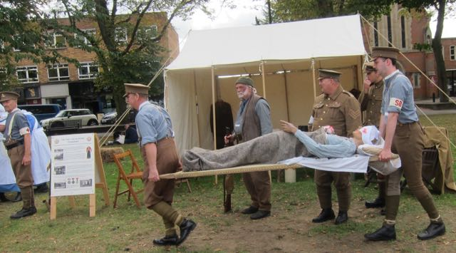 Eastleigh Remembers: the field hospital in the first world war