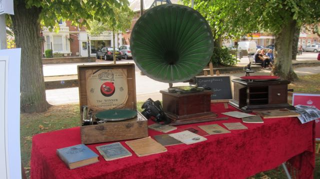 Gramaphone display
