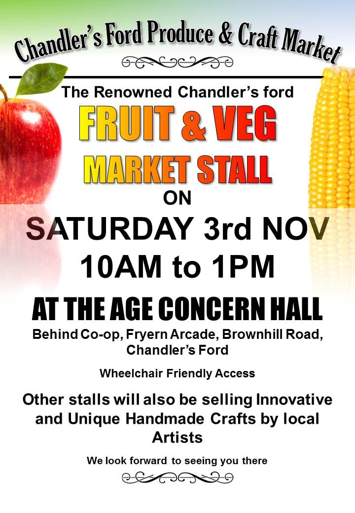 Chandler's Ford market - November 2018