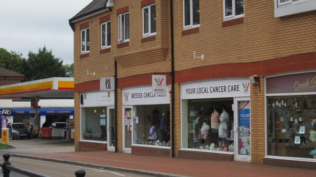 Wessex Cancer Trust charity shop