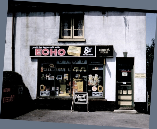Where was this shop in Chandler's Ford? Image credit: Peter Smith (deceased), old friend of Doug Clews.