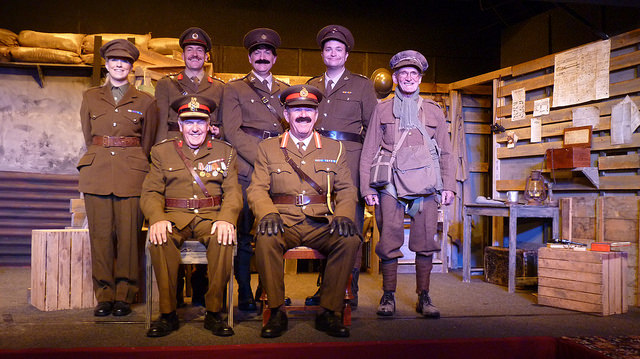 Blackadder Goes Forth - brilliantly performed by the Chameleons from Chandler's Ford.