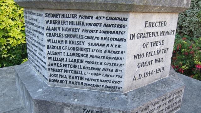 Chandler's Ford War Memorial
